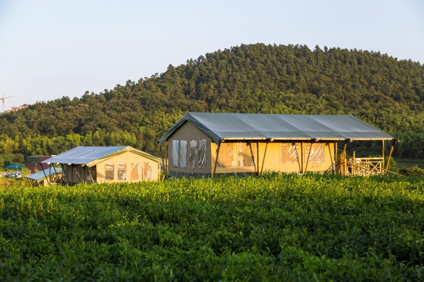 江苏常州茅山宝盛园坡地帐篷酒店12