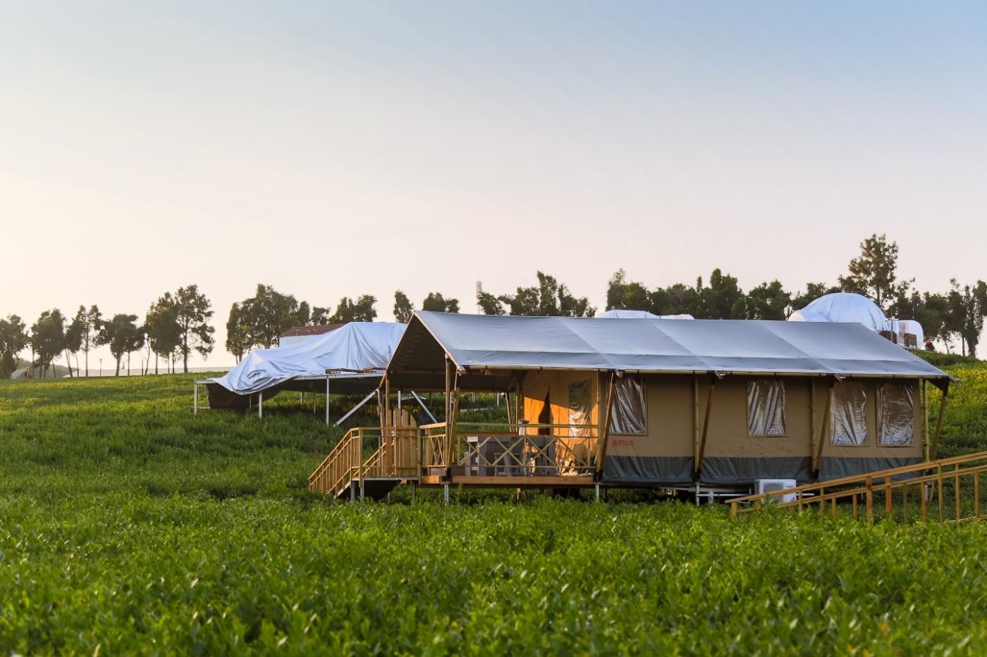 喜马拉雅野奢帐篷酒店—江苏常州茅山宝盛园茶园帐篷酒店17