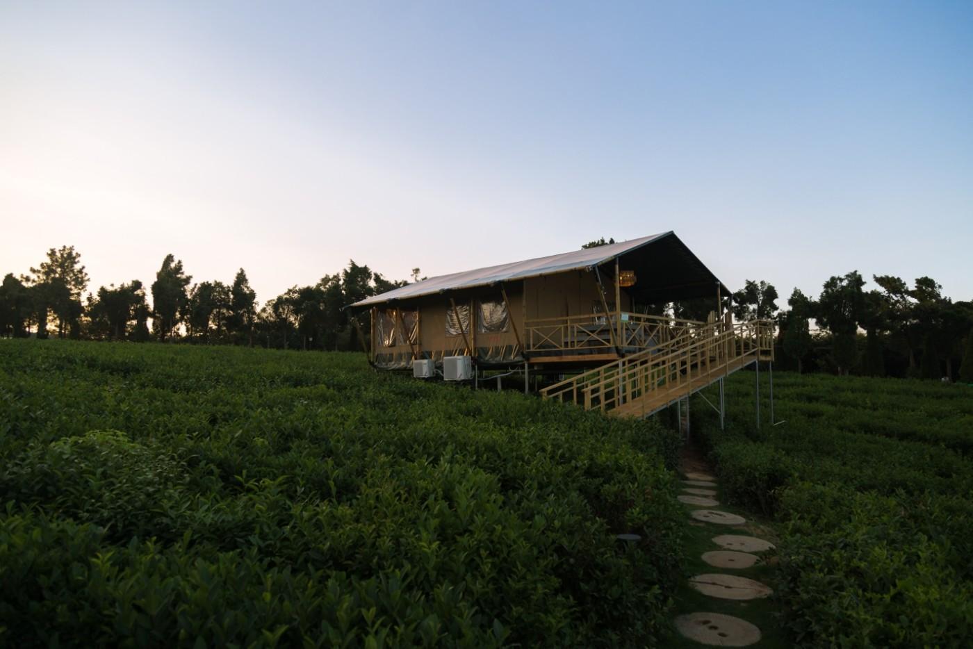 江苏常州茅山宝盛园坡地帐篷酒店21