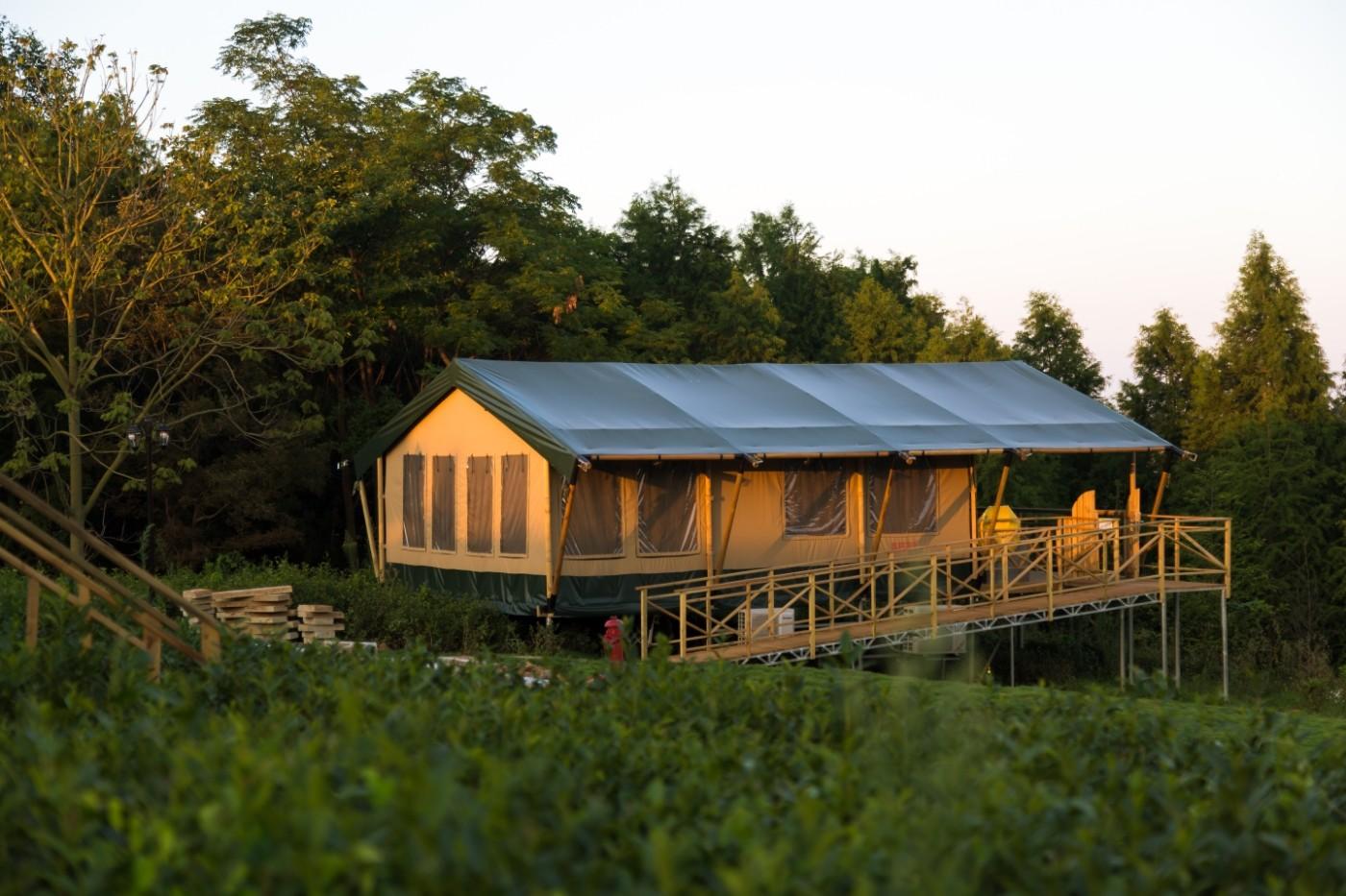 喜马拉雅野奢帐篷酒店—江苏常州茅山宝盛园茶园帐篷酒店18