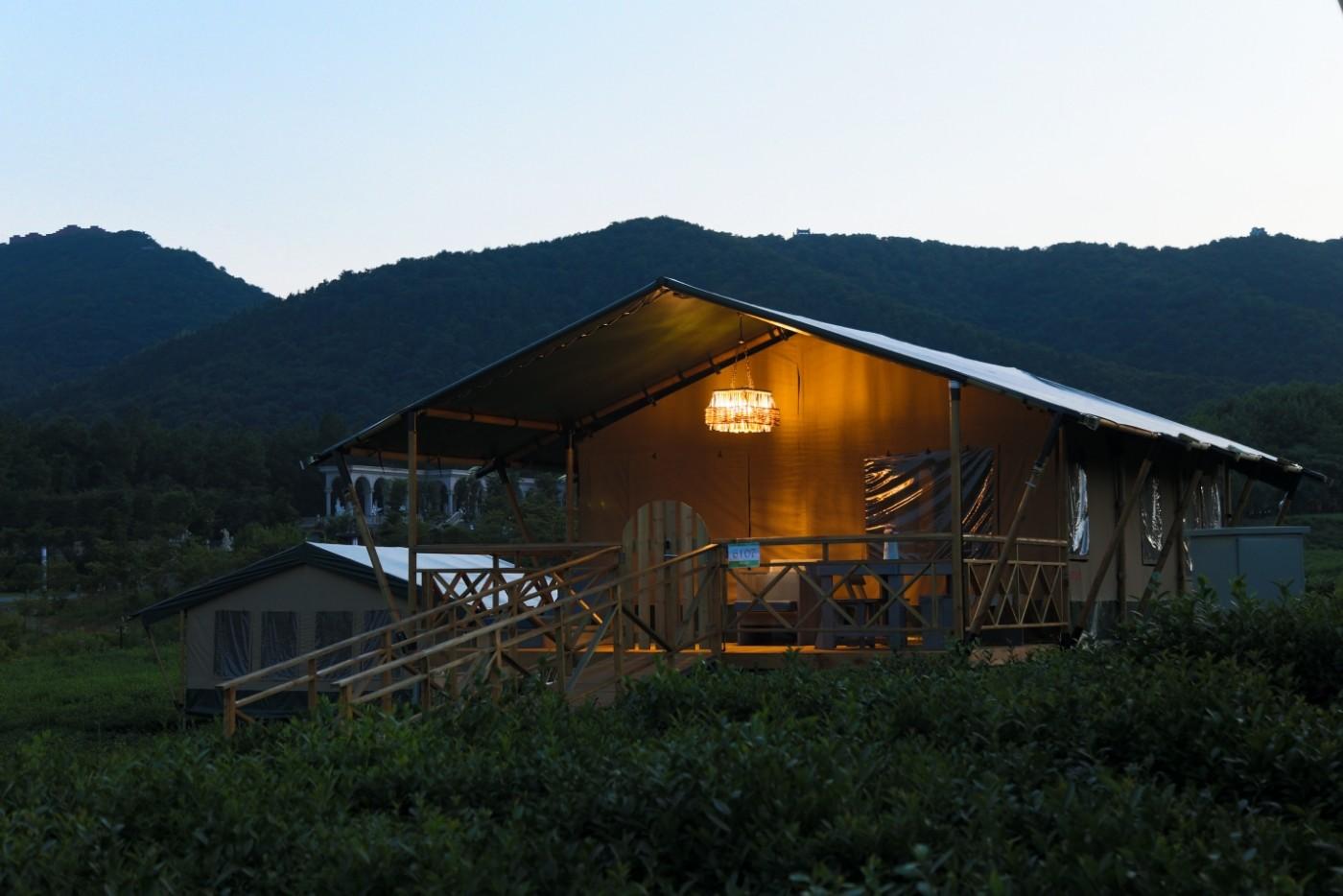 喜马拉雅野奢帐篷酒店—江苏常州茅山宝盛园茶园帐篷酒店23