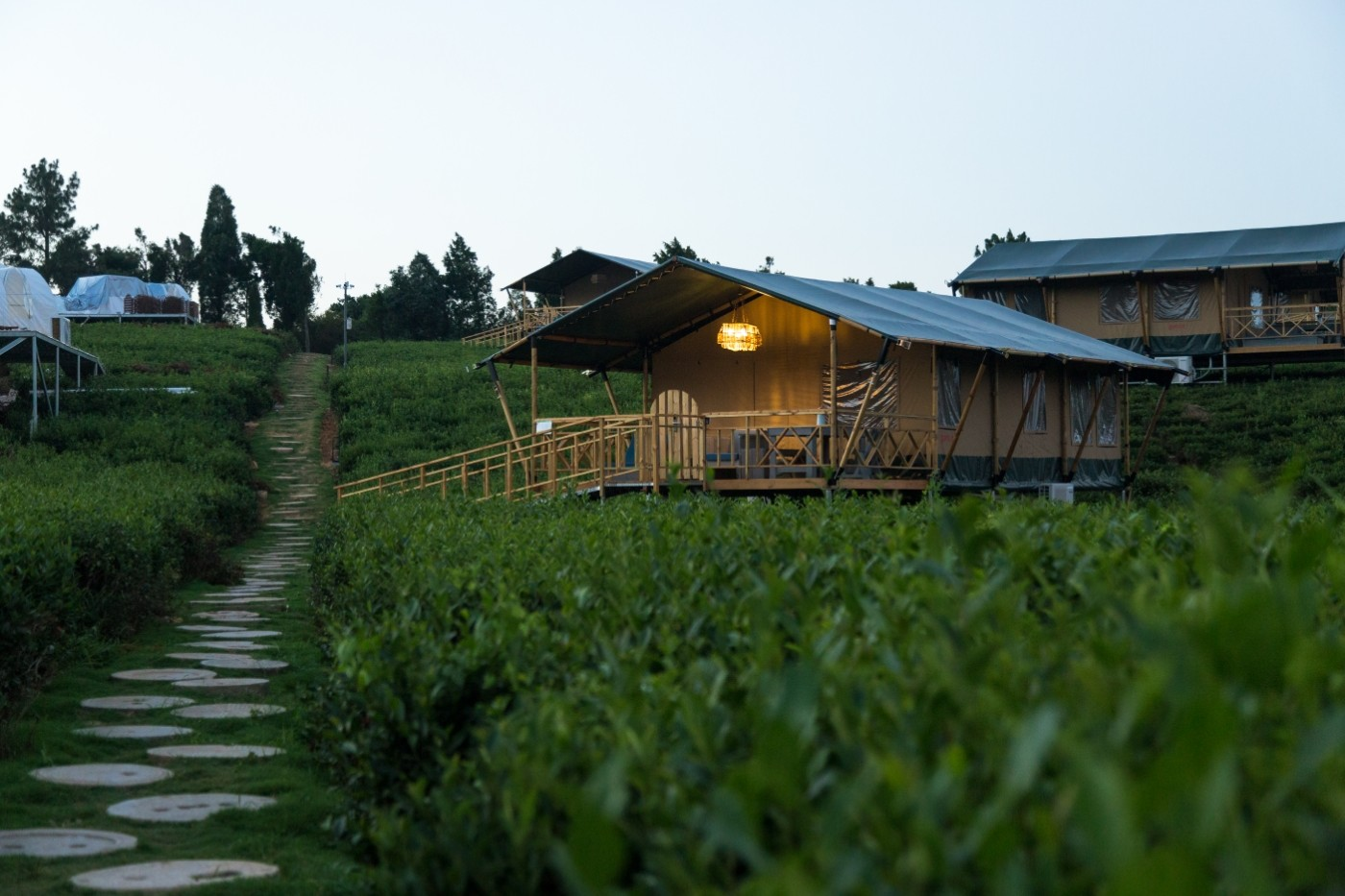 江苏常州茅山宝盛园坡地帐篷酒店24