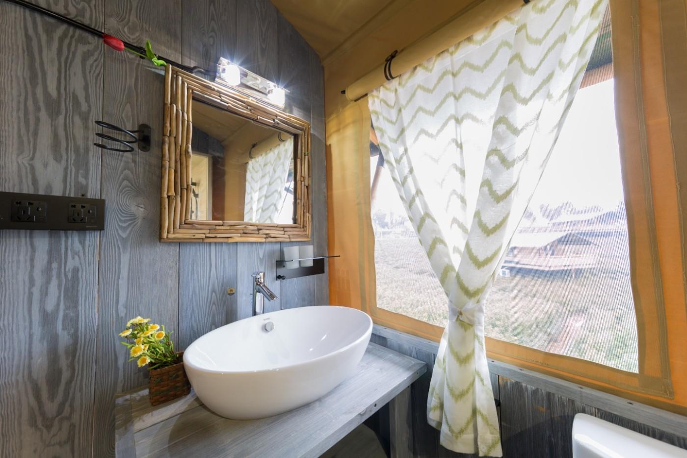喜马拉雅野奢帐篷酒店—江苏常州茅山宝盛园2期茶田帐篷酒店29