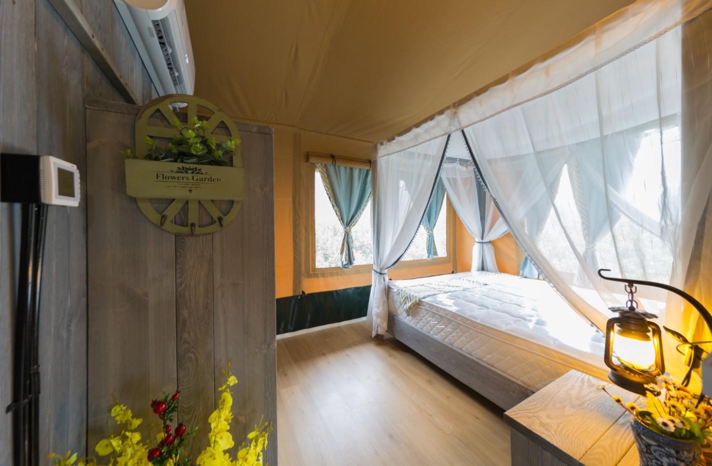 喜马拉雅野奢帐篷酒店—江苏常州茅山宝盛园2期茶田帐篷酒店31
