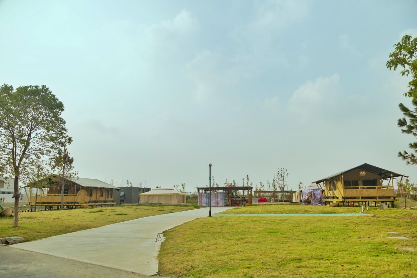喜马拉雅野奢帐篷酒店—浙江留香之家露营地(54平)1