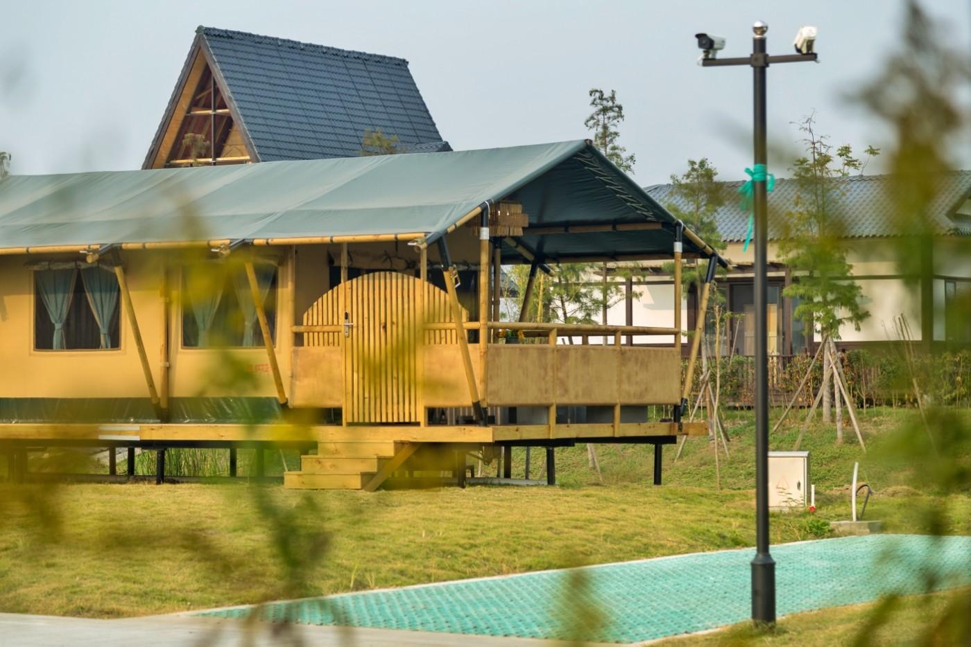 喜马拉雅野奢帐篷酒店—浙江留香之家露营地(54平)5