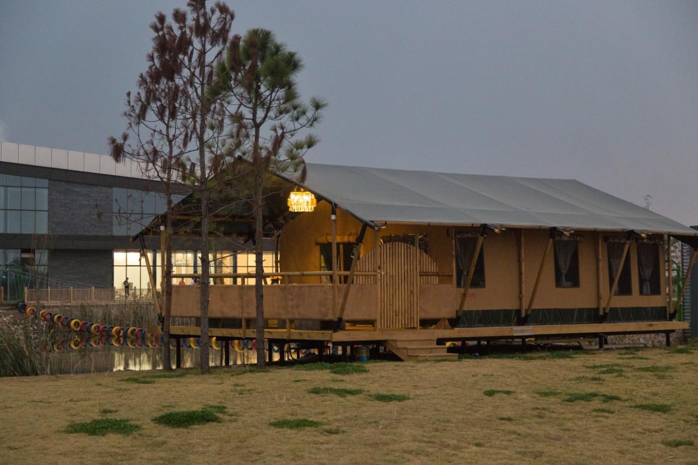 喜马拉雅野奢帐篷酒店—浙江留香之家露营地(54平)12