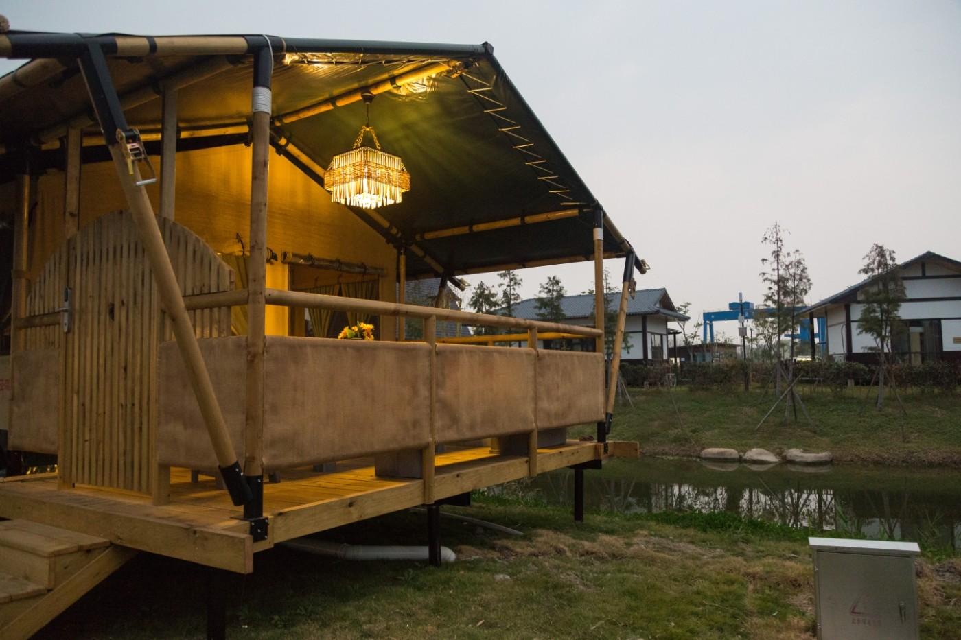 喜马拉雅野奢帐篷酒店—浙江留香之家露营地(54平)13