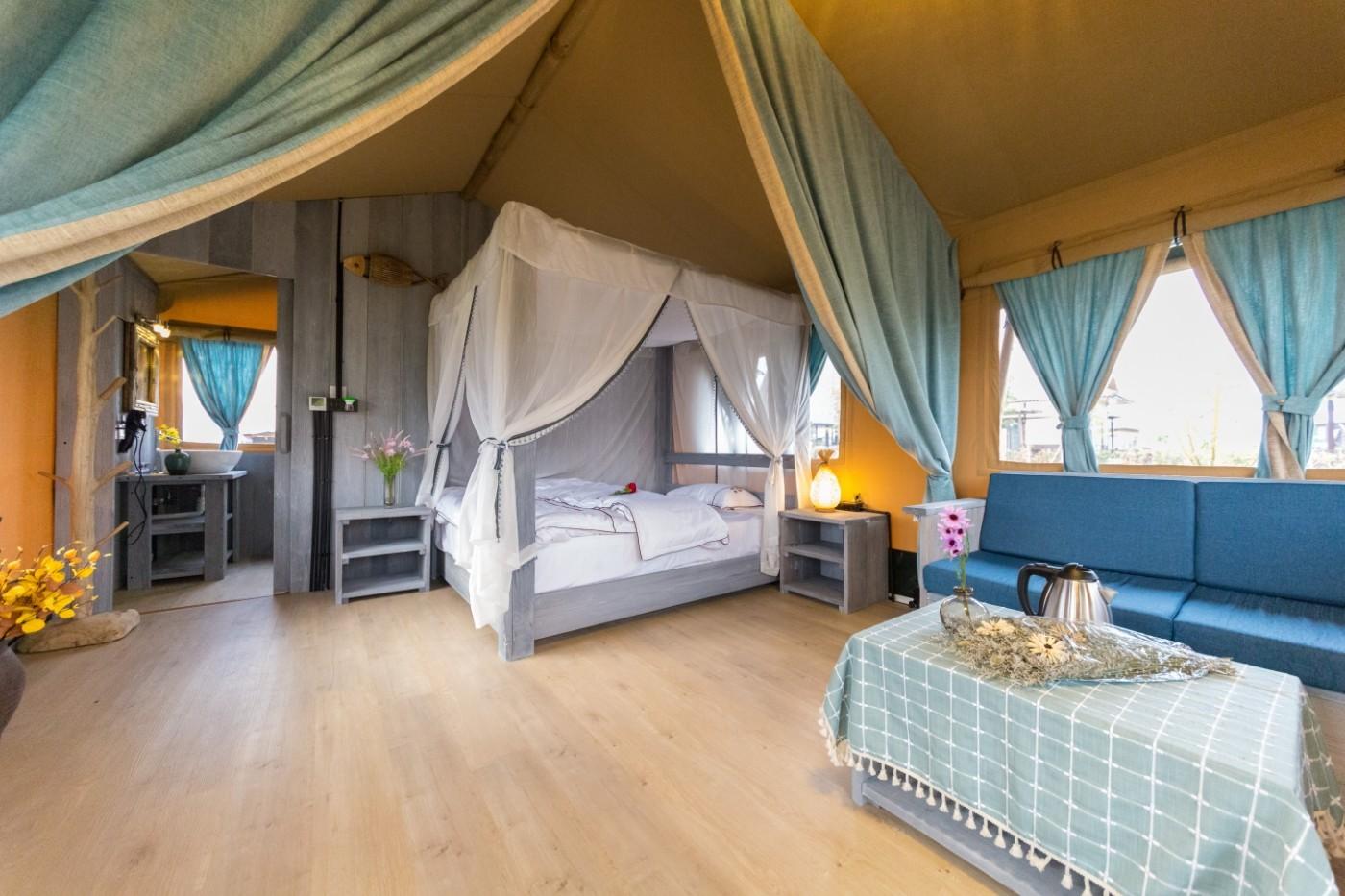 喜马拉雅野奢帐篷酒店—浙江留香之家露营地(54平)25