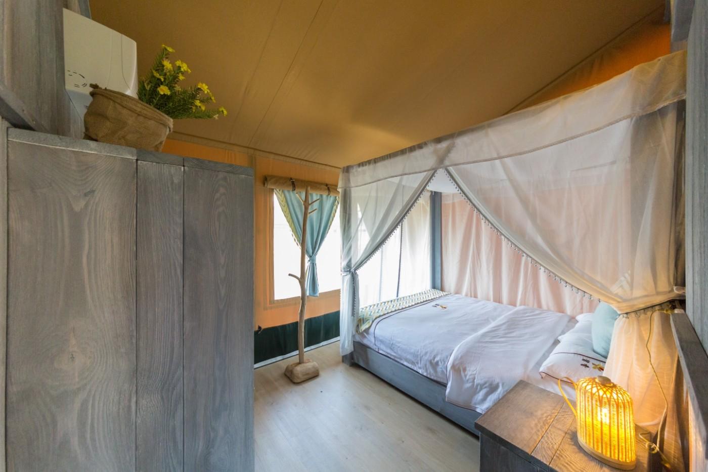 喜马拉雅野奢帐篷酒店—浙江留香之家露营地帐篷酒店(78平)36