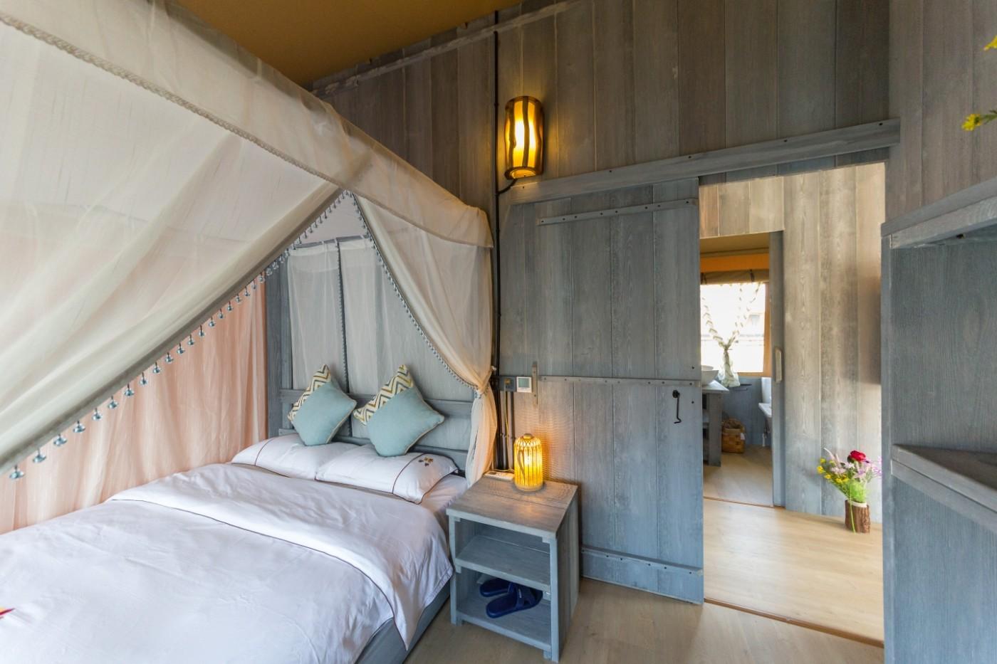 喜马拉雅野奢帐篷酒店—浙江留香之家露营地帐篷酒店(78平)37