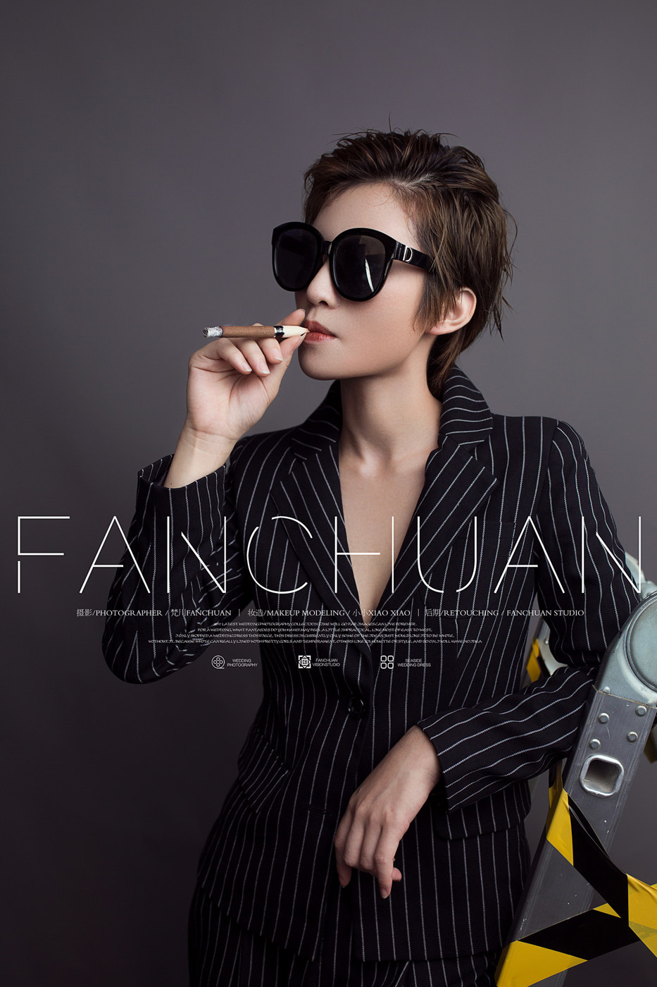 Striped suits10