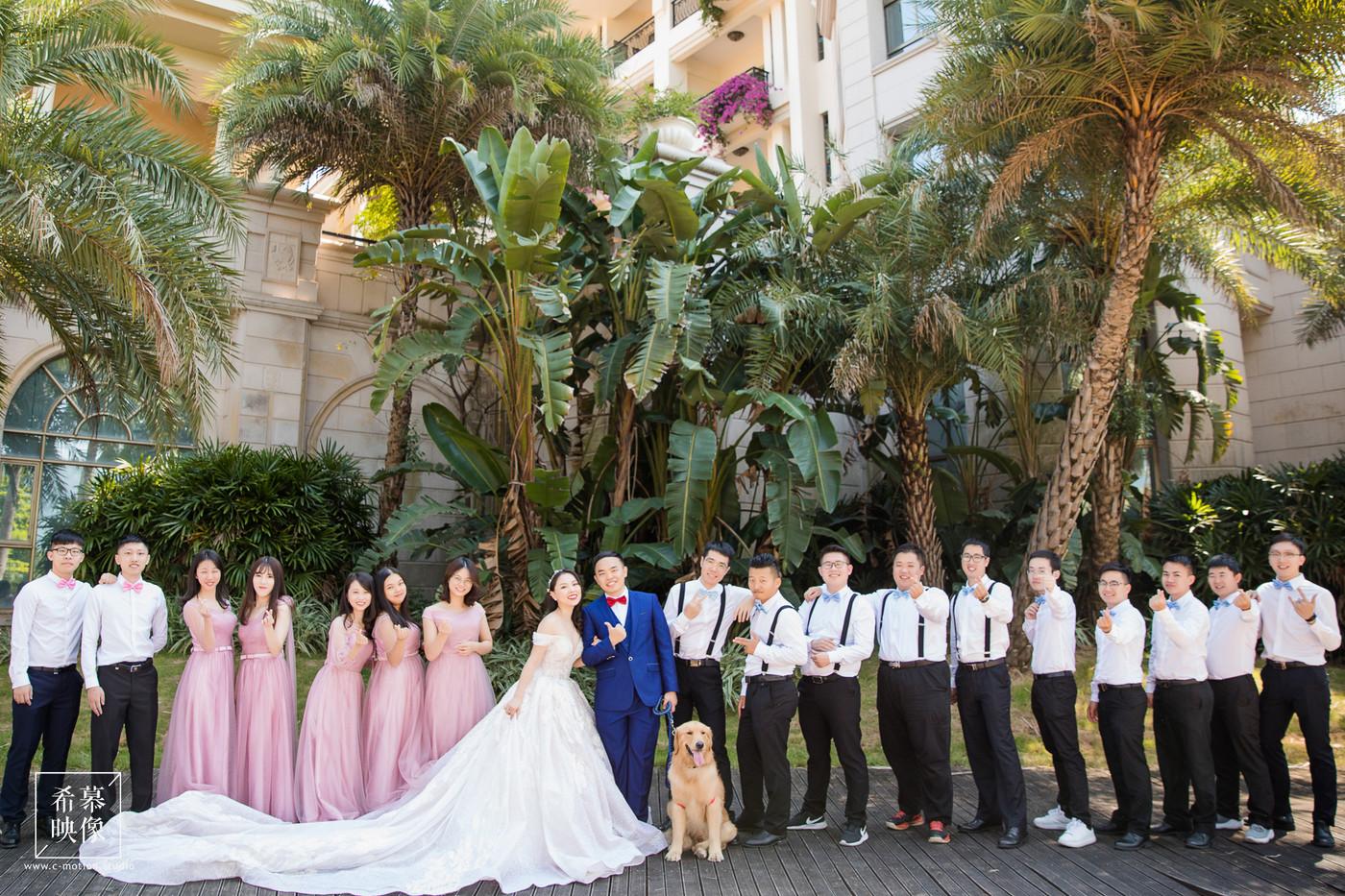 HY&Leo's Wedding day40