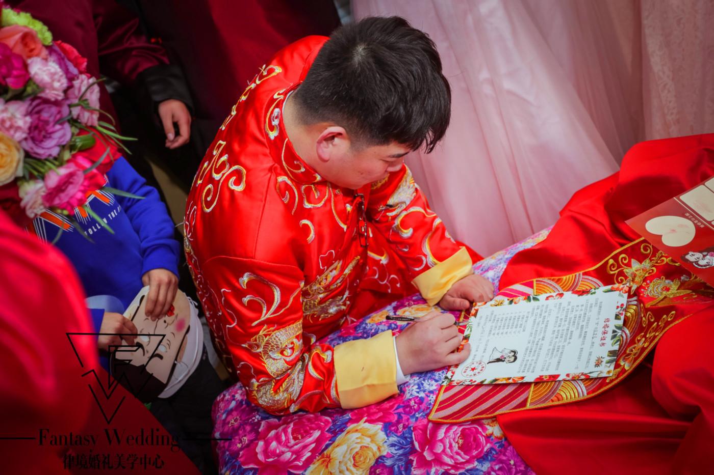 「Fantasy Wedding」&G R 白金汉爵9