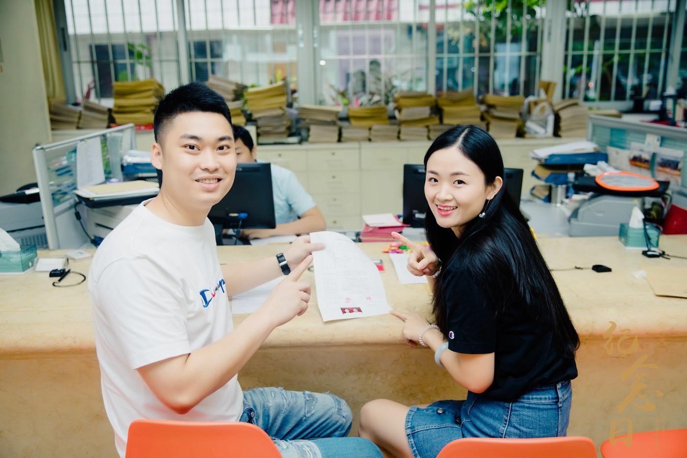 登记跟拍 | 润星&吴菁3