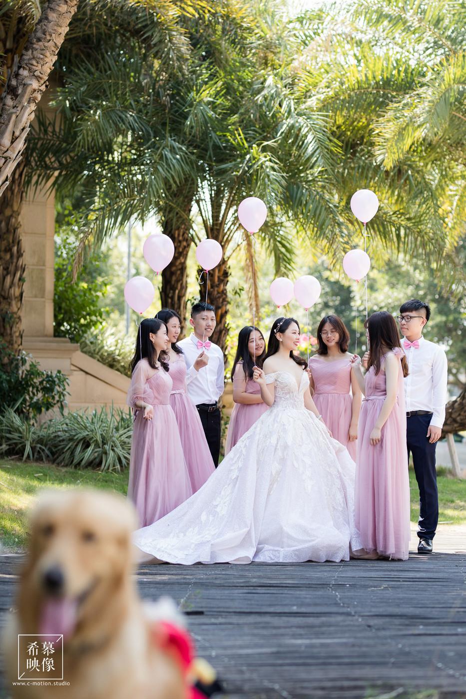 HY&Leo's Wedding day39