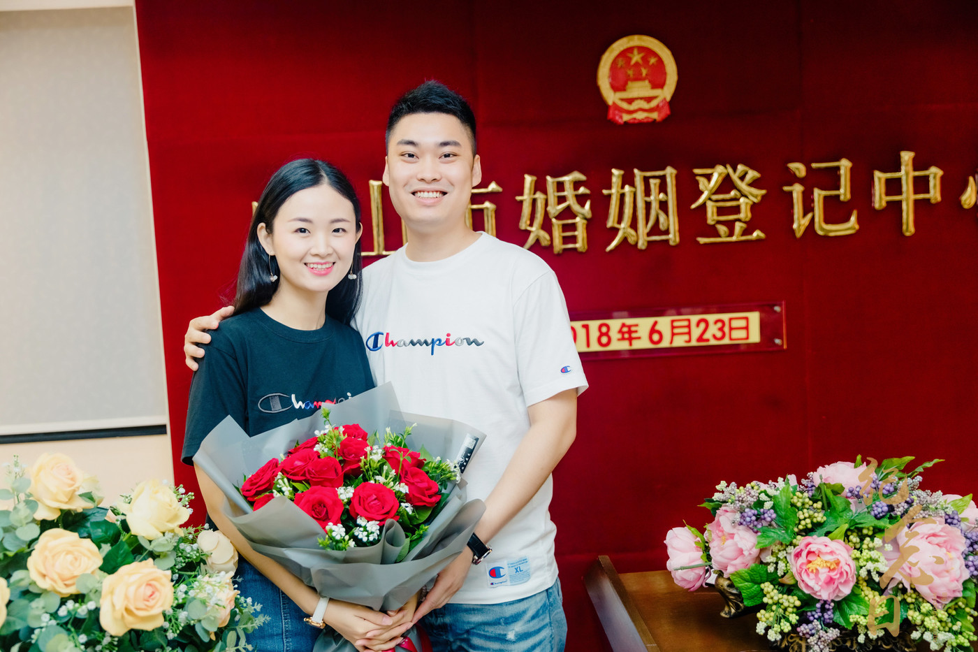 登记跟拍 | 润星&吴菁4