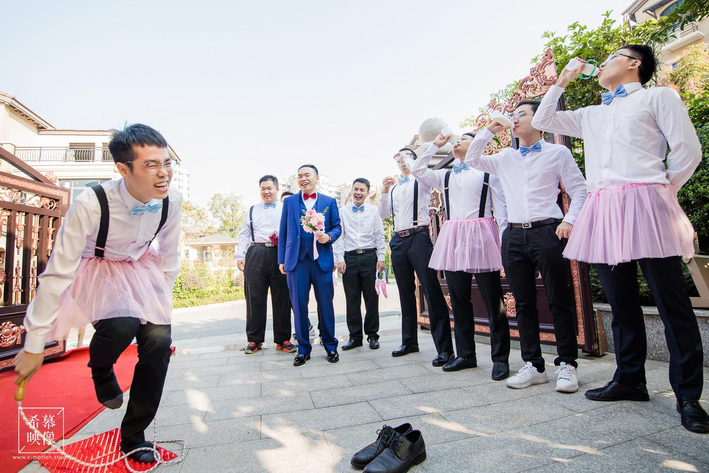 HY&Leo's Wedding day23