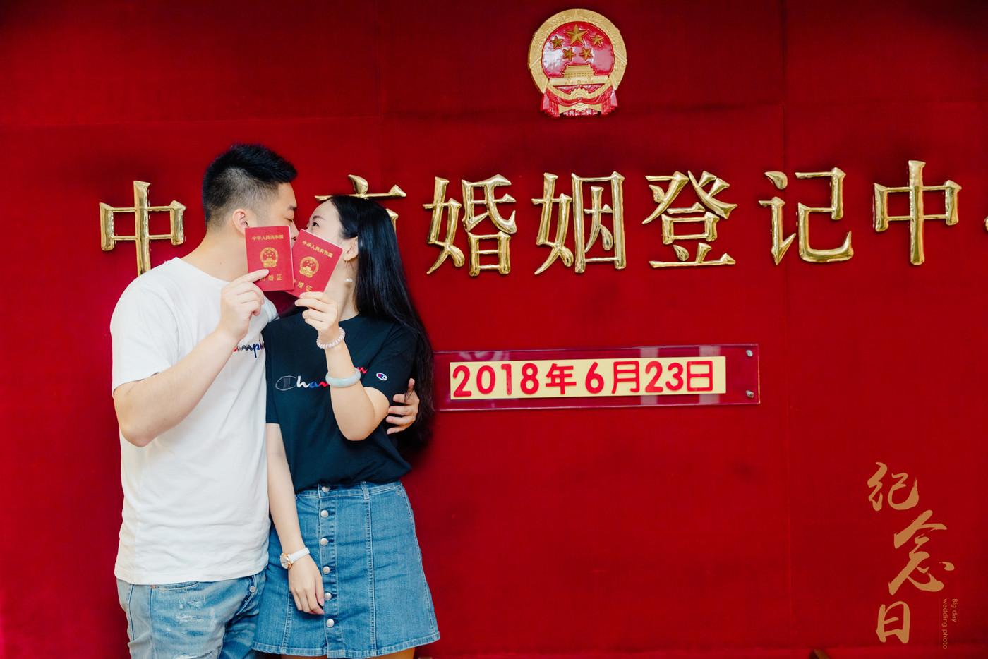 登记跟拍 | 润星&吴菁10