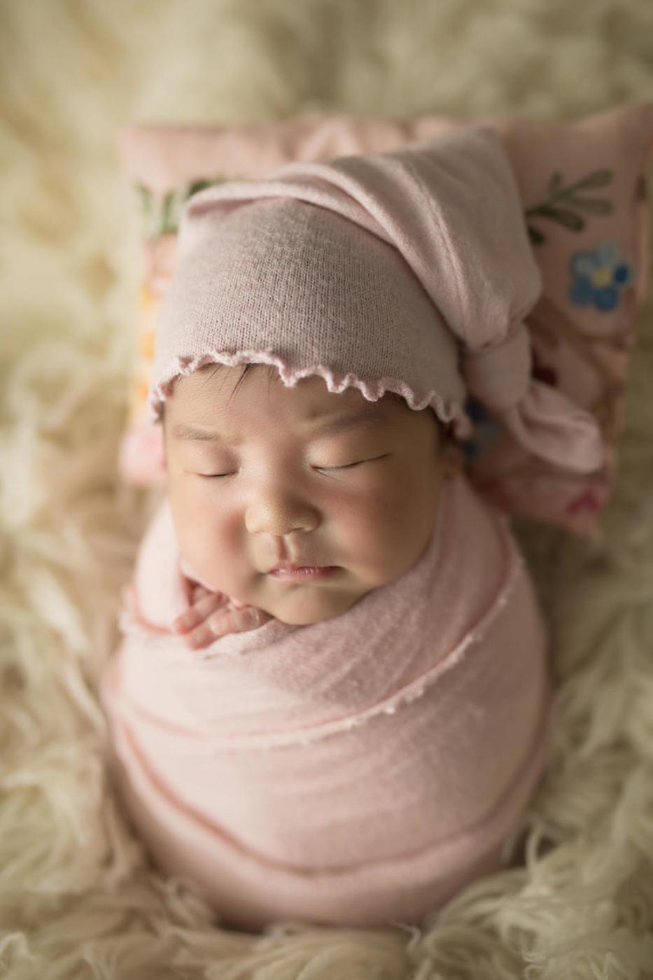 #不睡宝宝的表情秀#小美妞1