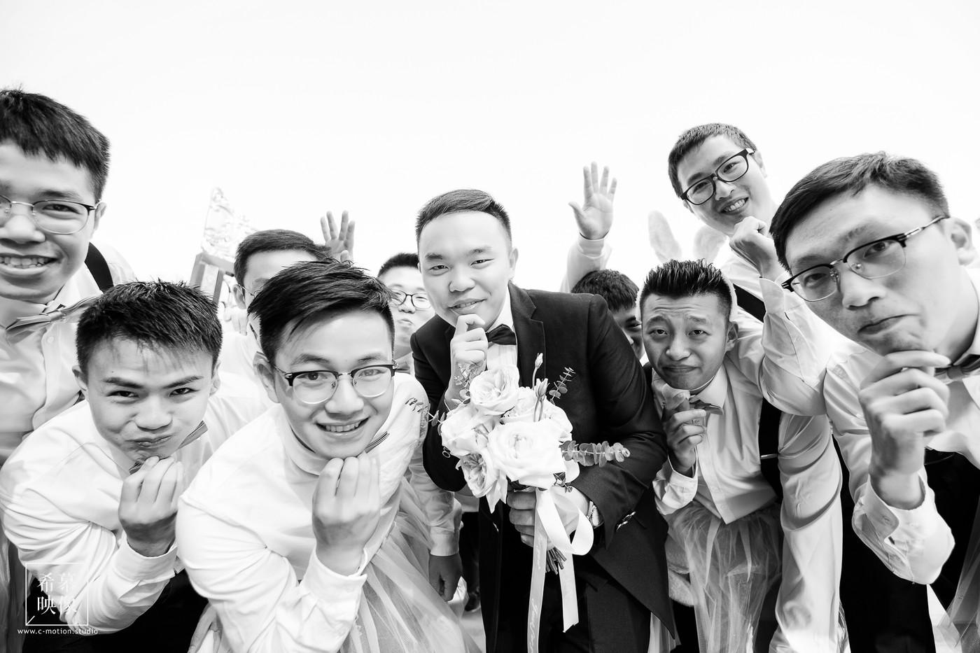 HY&Leo's Wedding day25