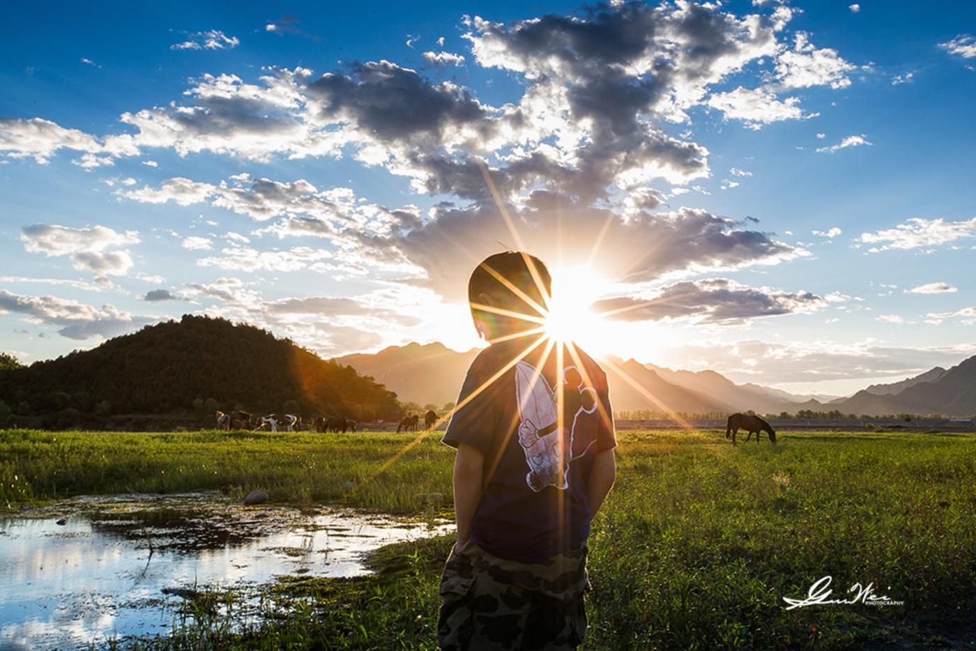 夏日的夕阳9
