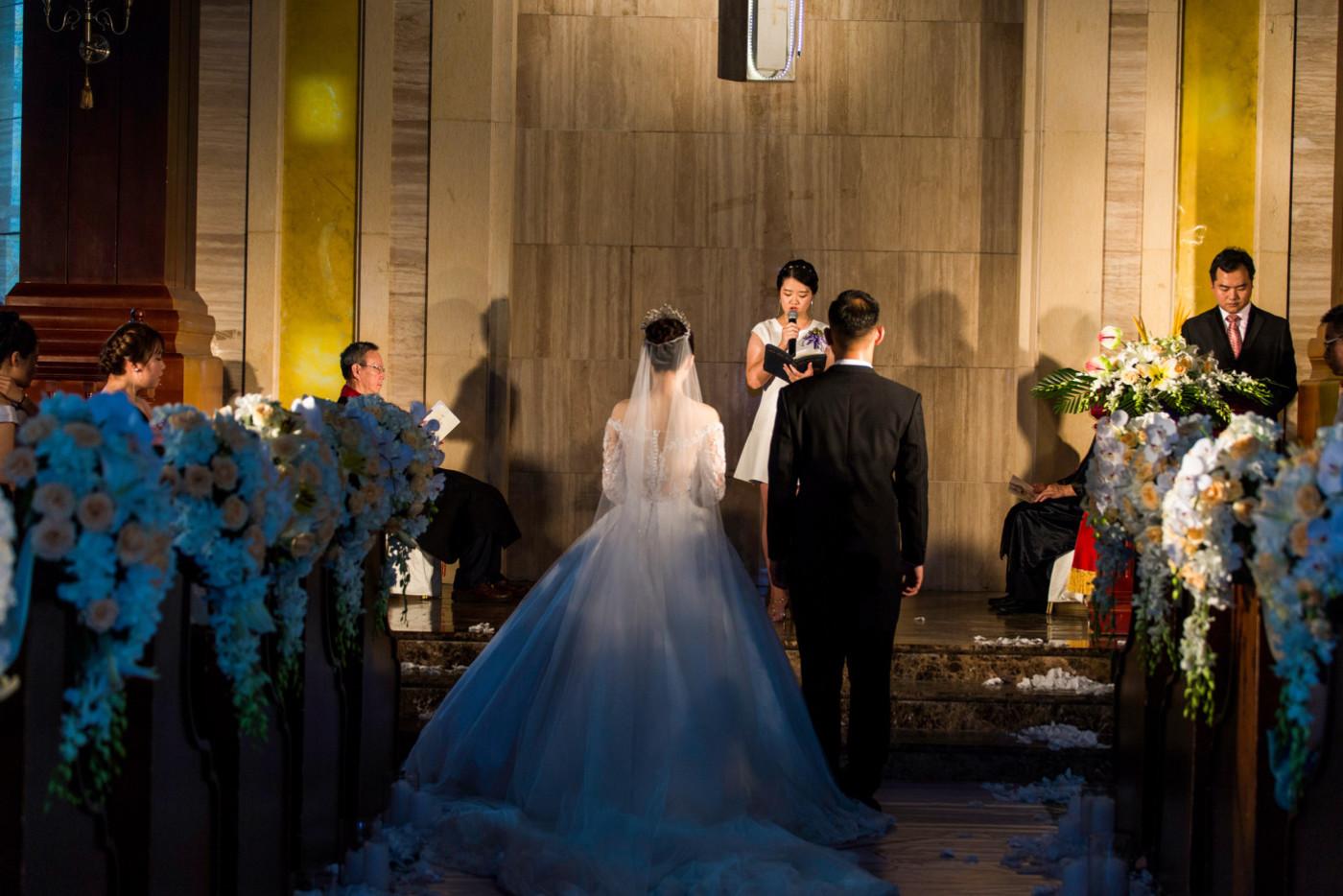 超美的下雨天和教堂婚礼34