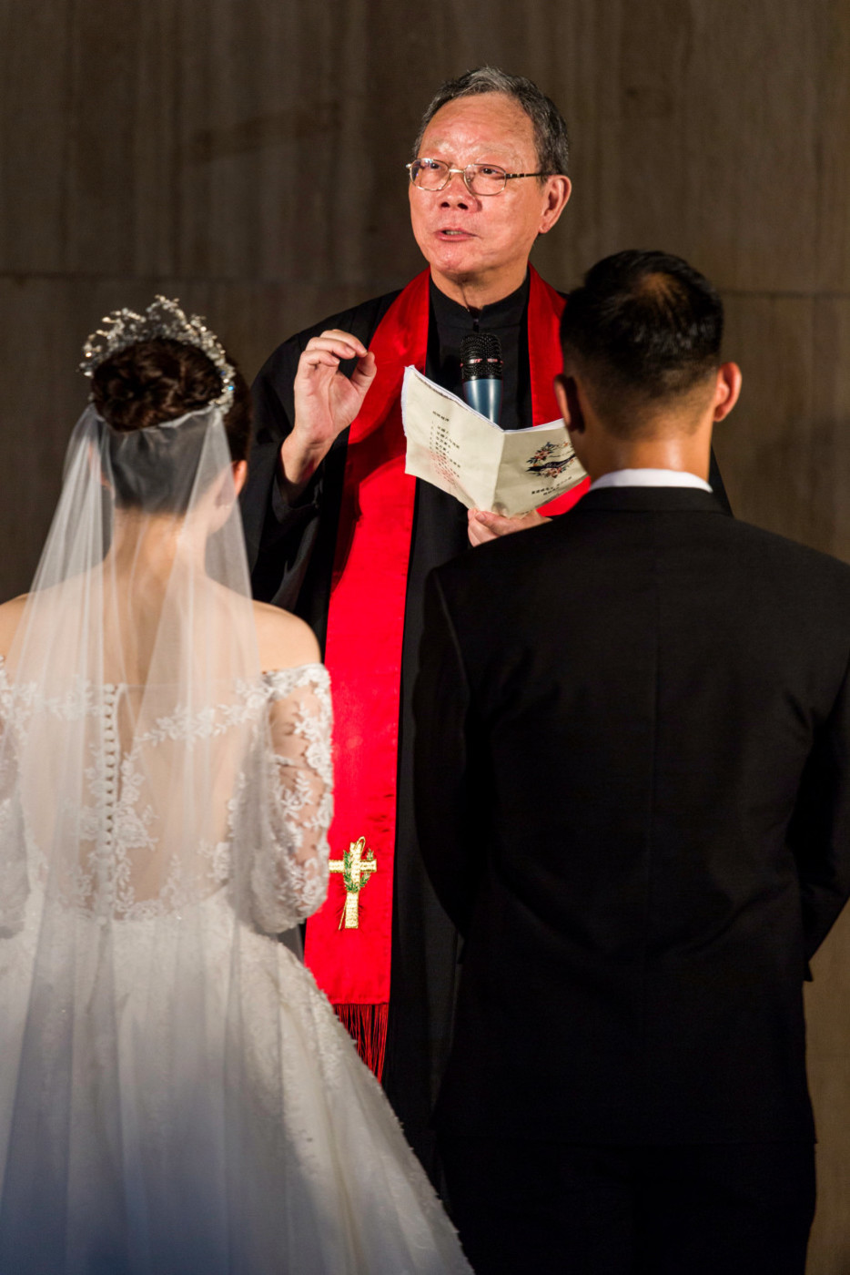 超美的下雨天和教堂婚礼37