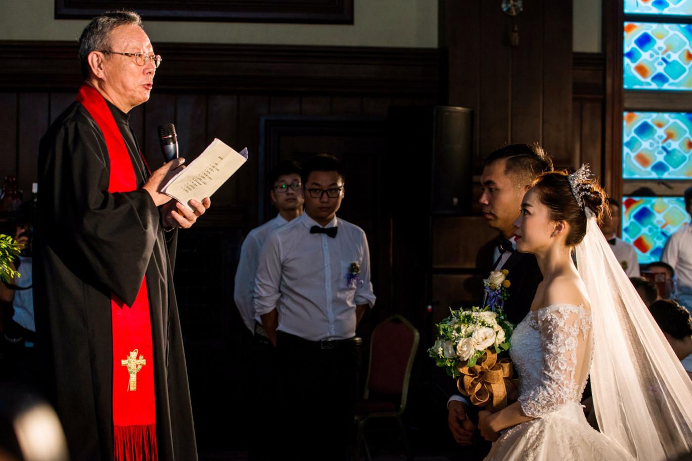 超美的下雨天和教堂婚礼39
