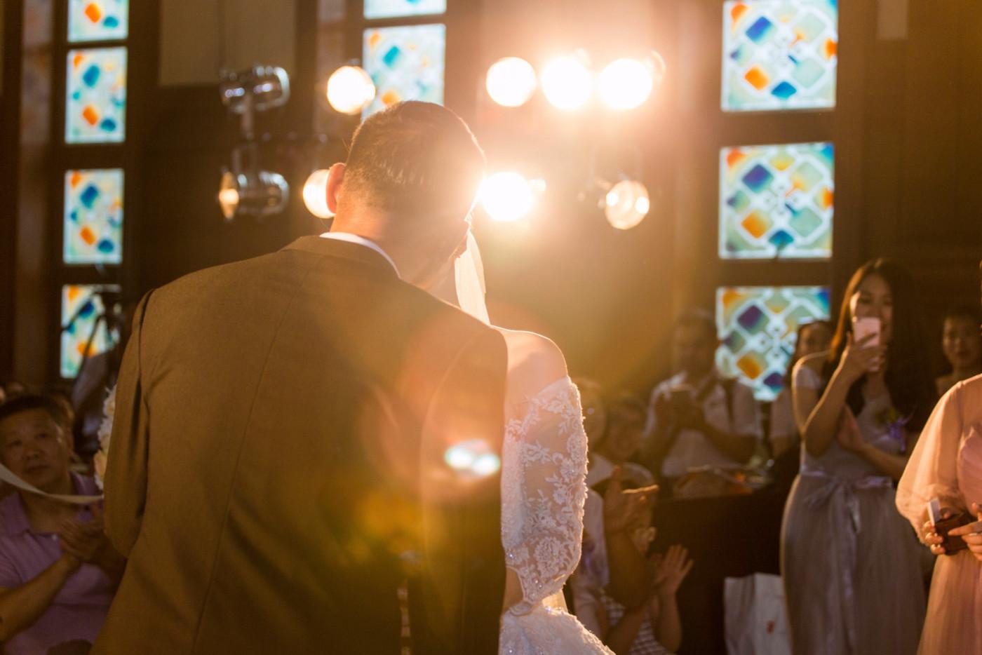 超美的下雨天和教堂婚礼40