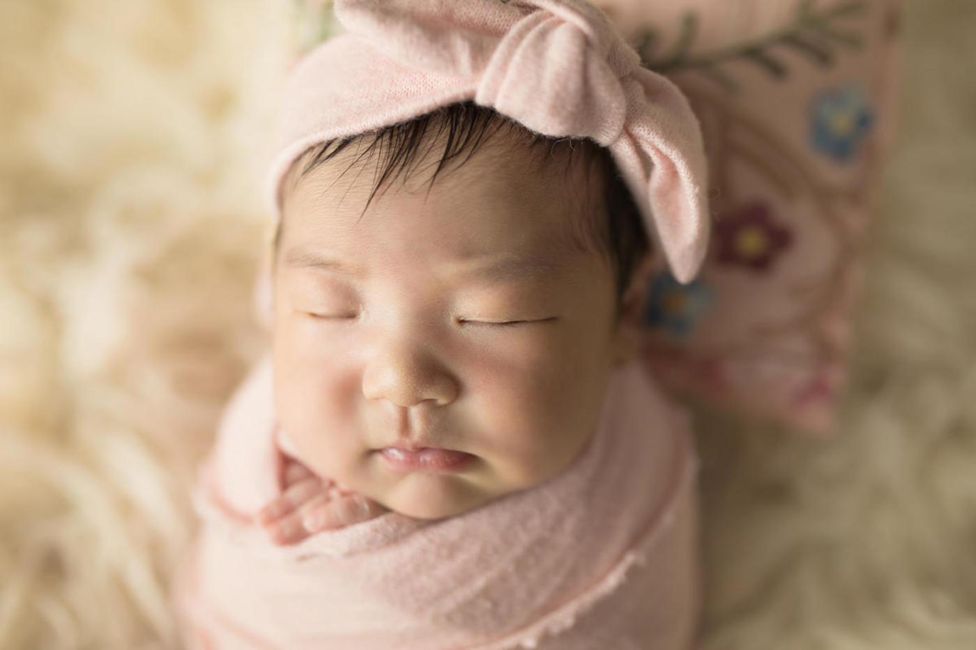 #不睡宝宝的表情秀#小美妞4