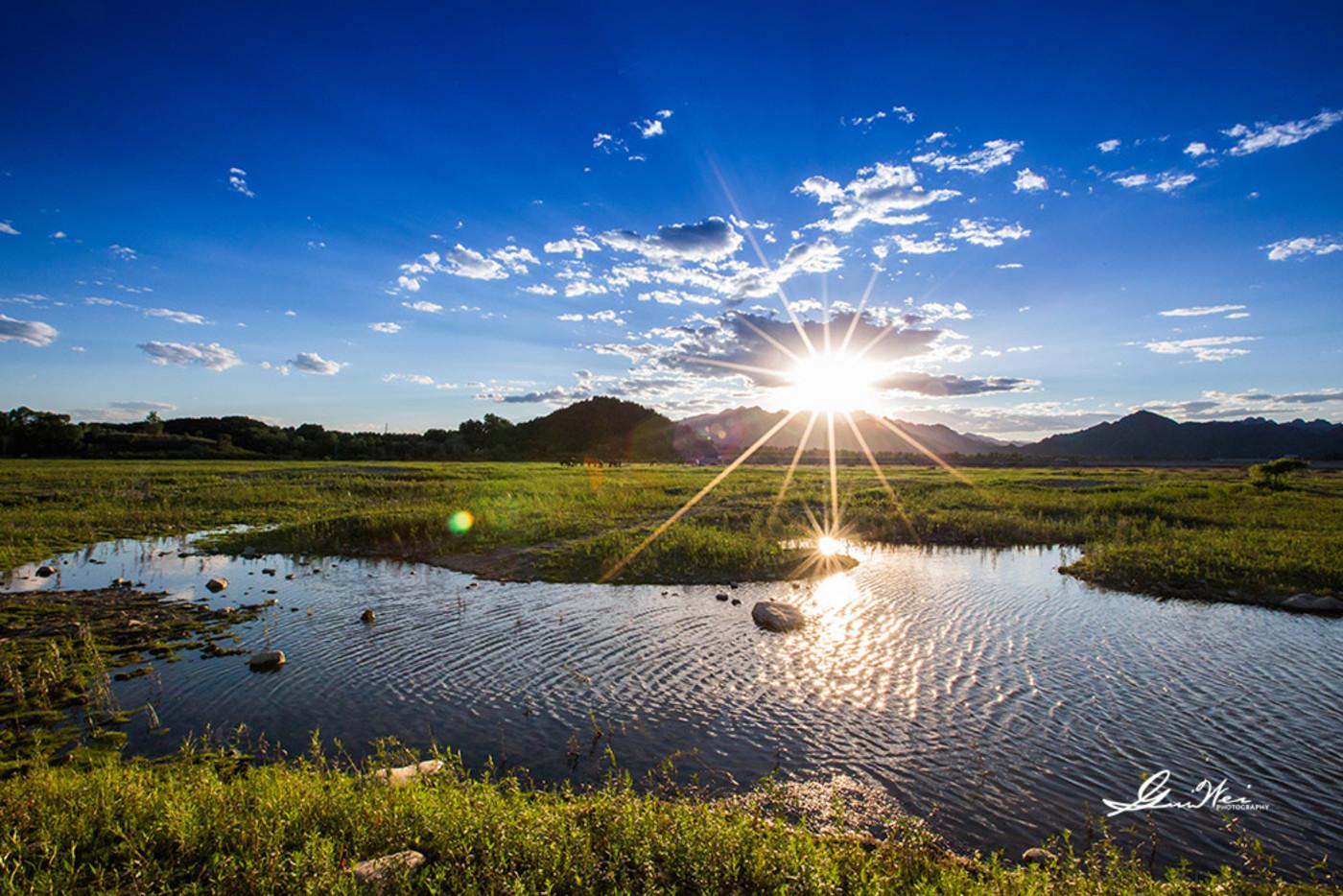 夏日的夕阳12