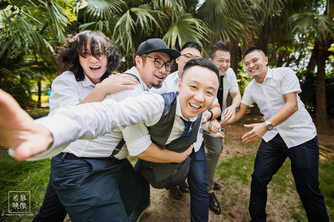 WY&CM's Wedding day4