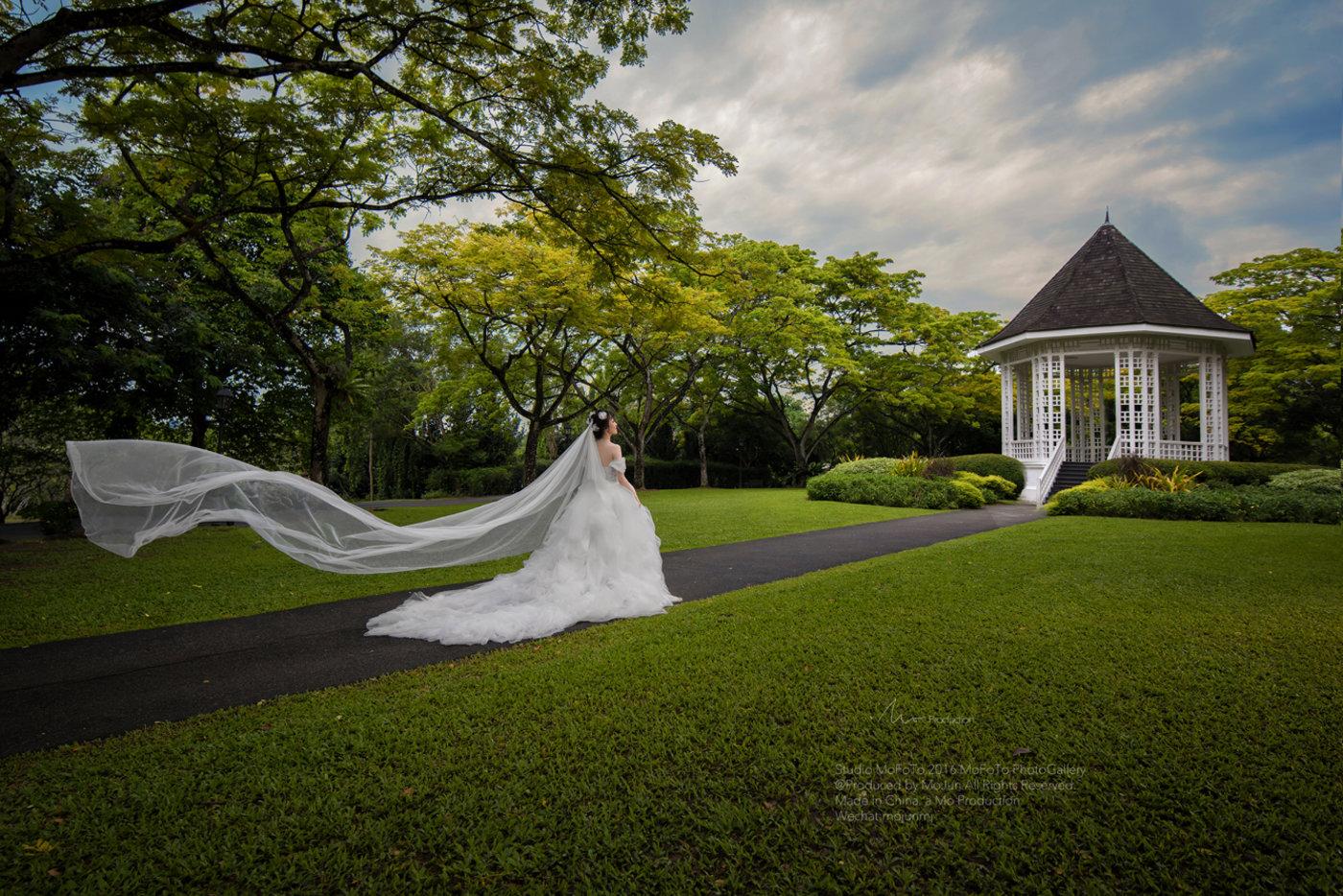 MoFoTo新加坡婚纱12