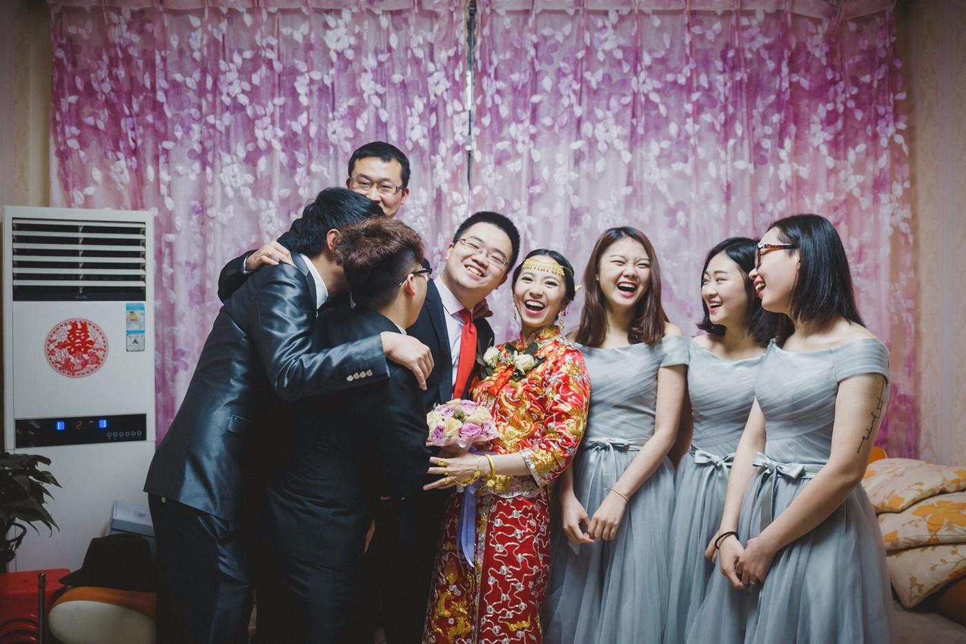 Wu+Yang married in Sanming0