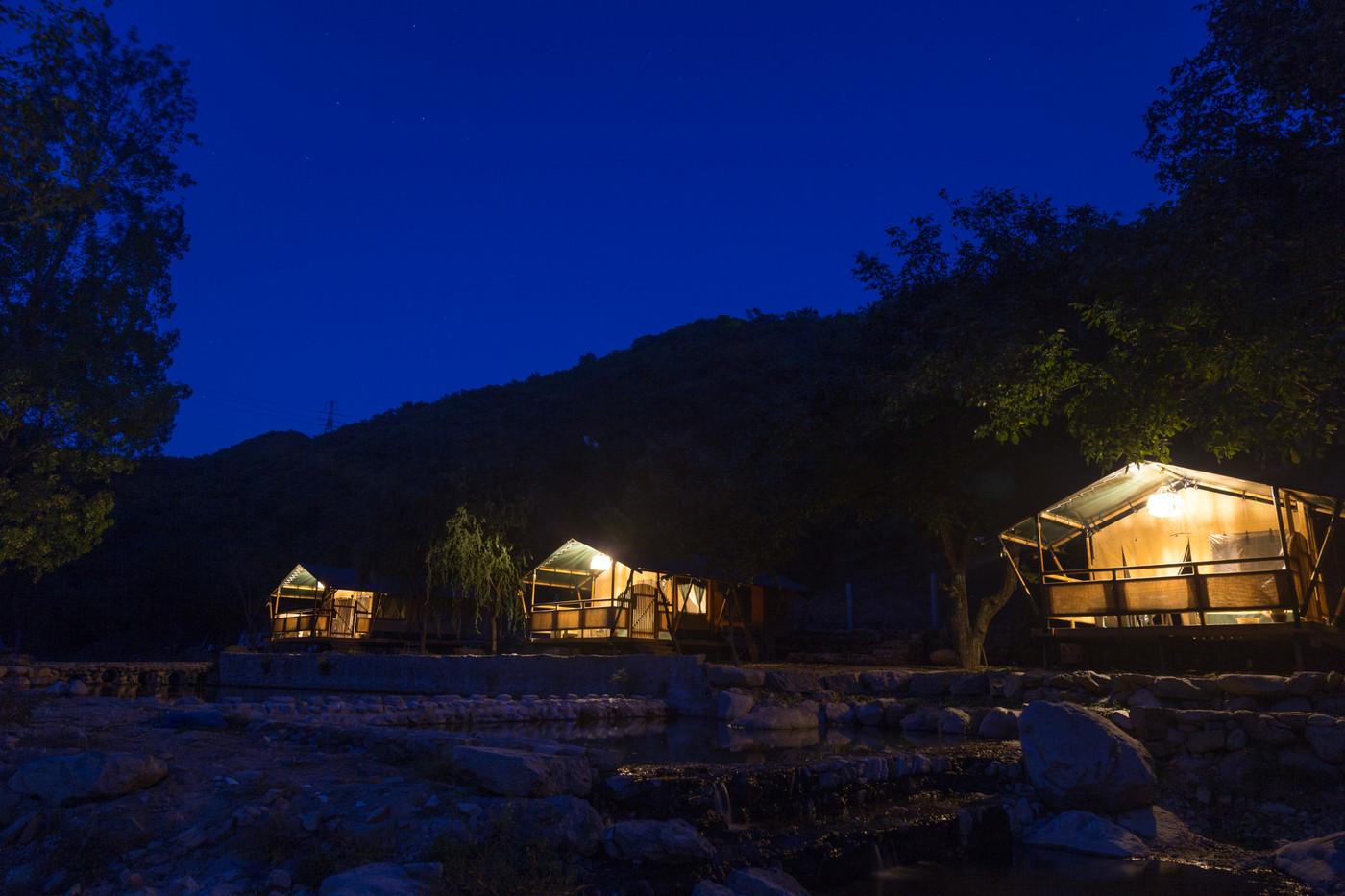 喜马拉雅野奢帐篷酒店一北京石头 剪刀 布一私享院子 54平山谷型  26
