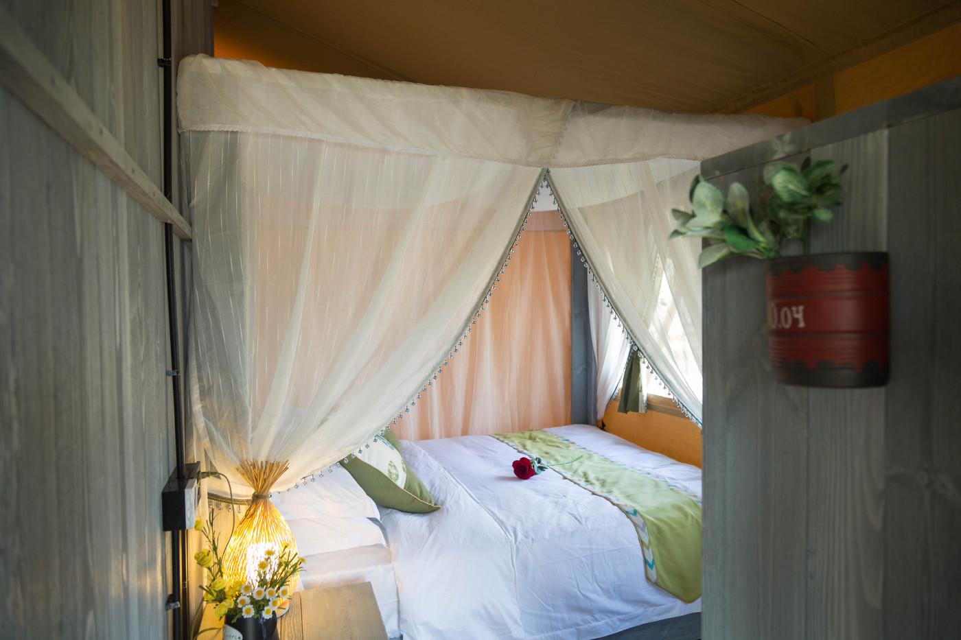 喜马拉雅野奢帐篷酒店—安徽砀山东篱蓬芦(梨园62平)21