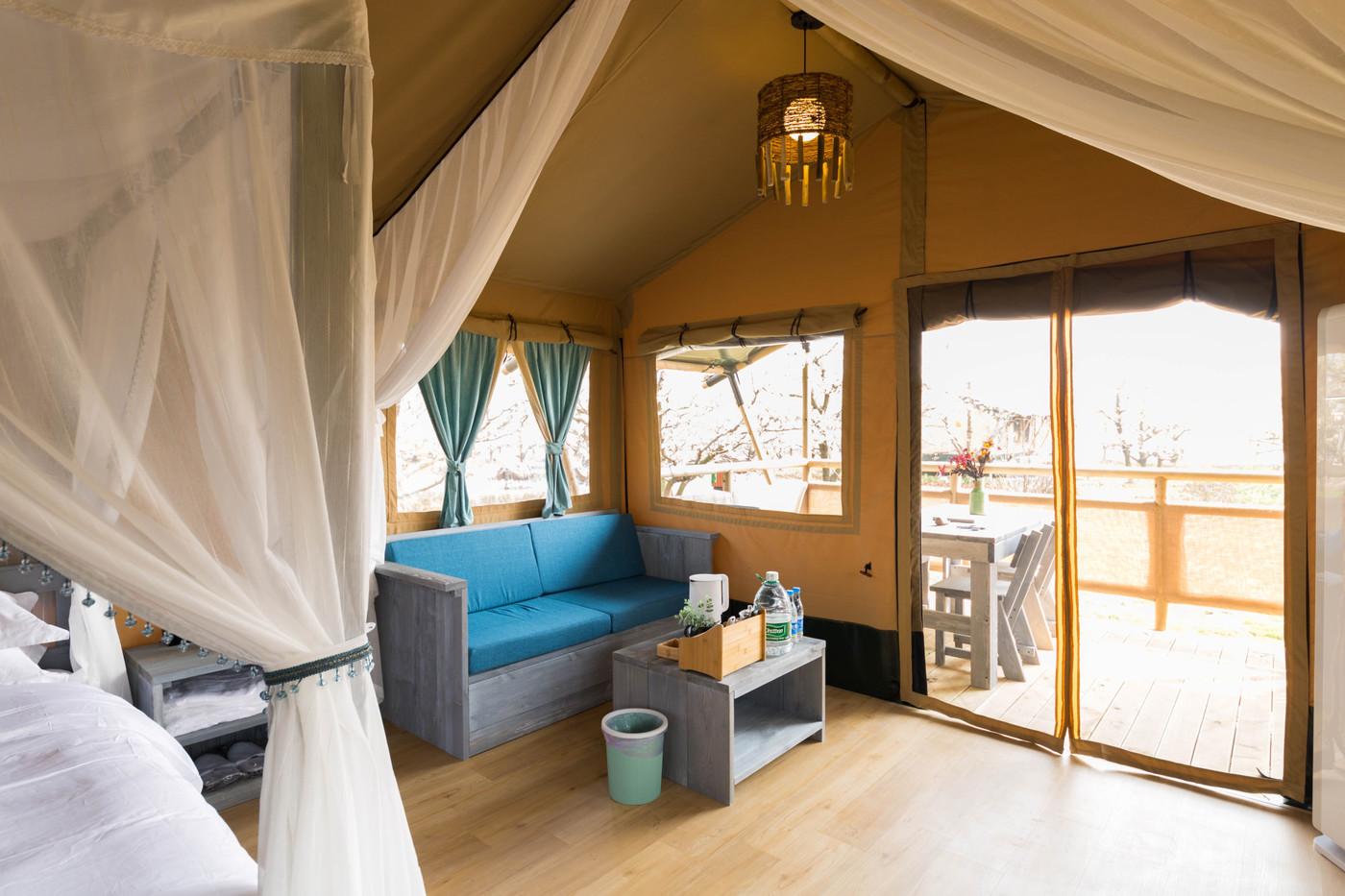 喜马拉雅野奢帐篷酒店—安徽砀山东篱蓬芦梨园帐篷酒店19