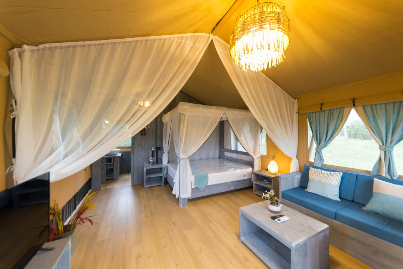 喜马拉雅野奢帐篷酒店—华山自驾游露营地(54平)20