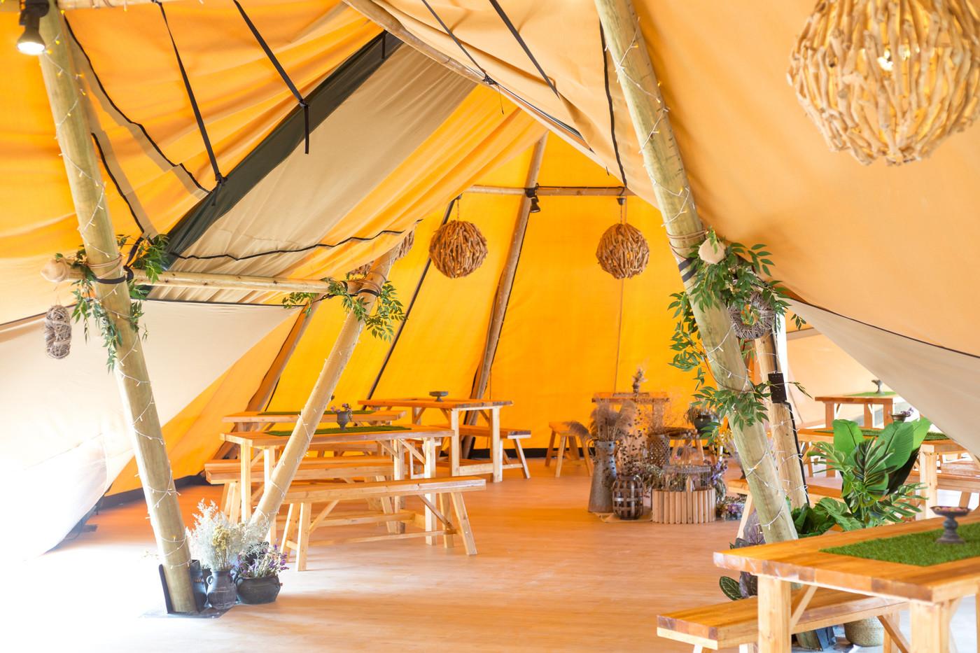 喜马拉雅印第安多功能大厅帐篷酒店35
