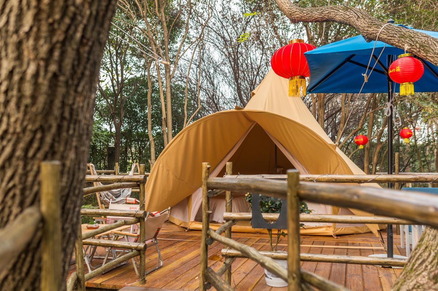 喜马拉雅野奢帐篷酒店—江苏常州天目湖树屋27