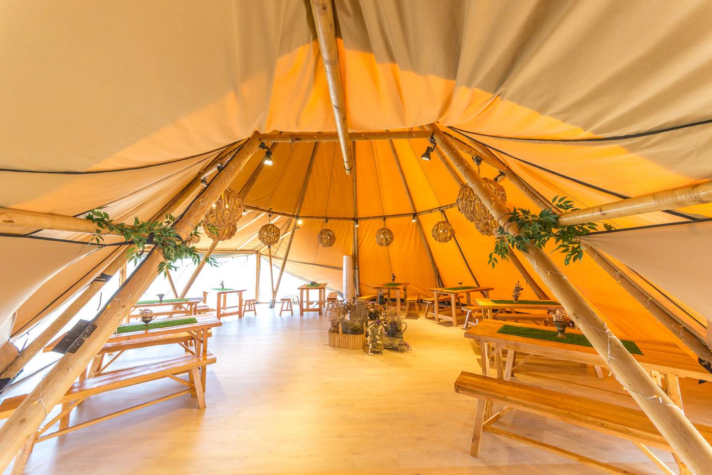 喜马拉雅印第安多功能大厅帐篷酒店26