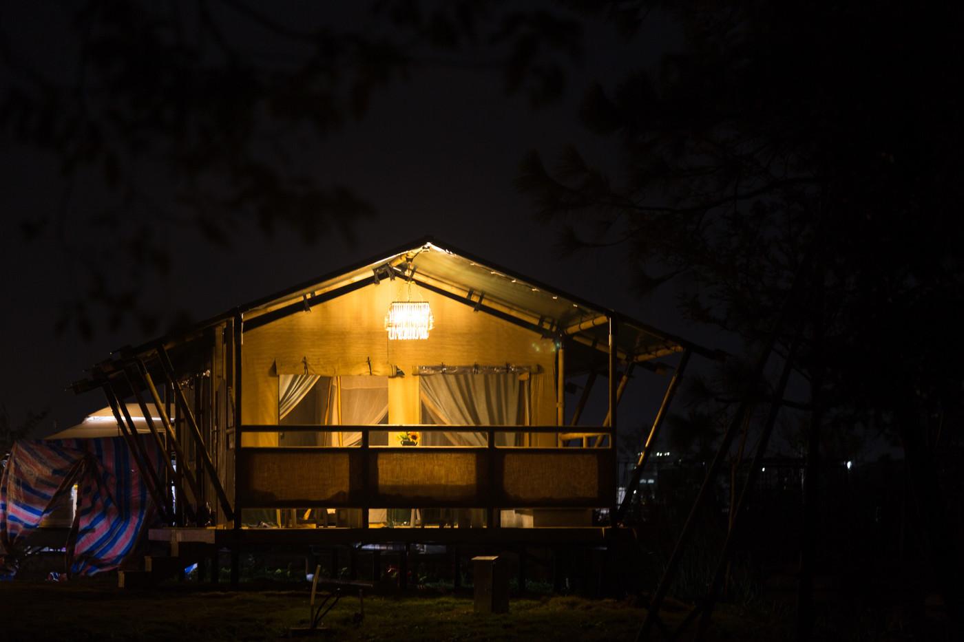 喜马拉雅野奢帐篷酒店—浙江留香之家露营地帐篷酒店(78平)19