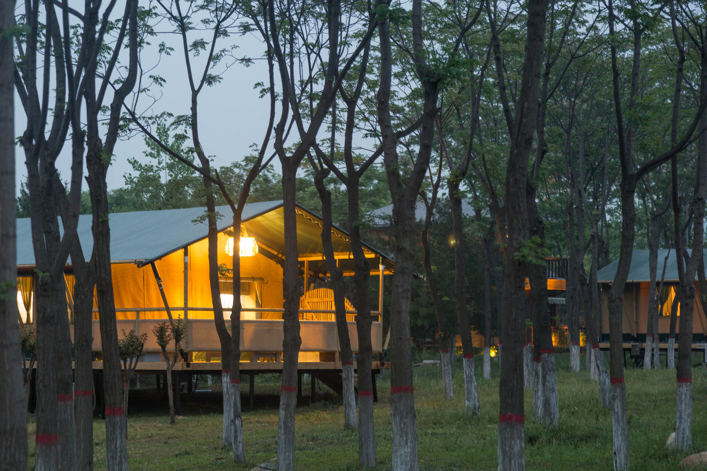 喜马拉雅野奢帐篷酒店—华山自驾游露营地(54平)13