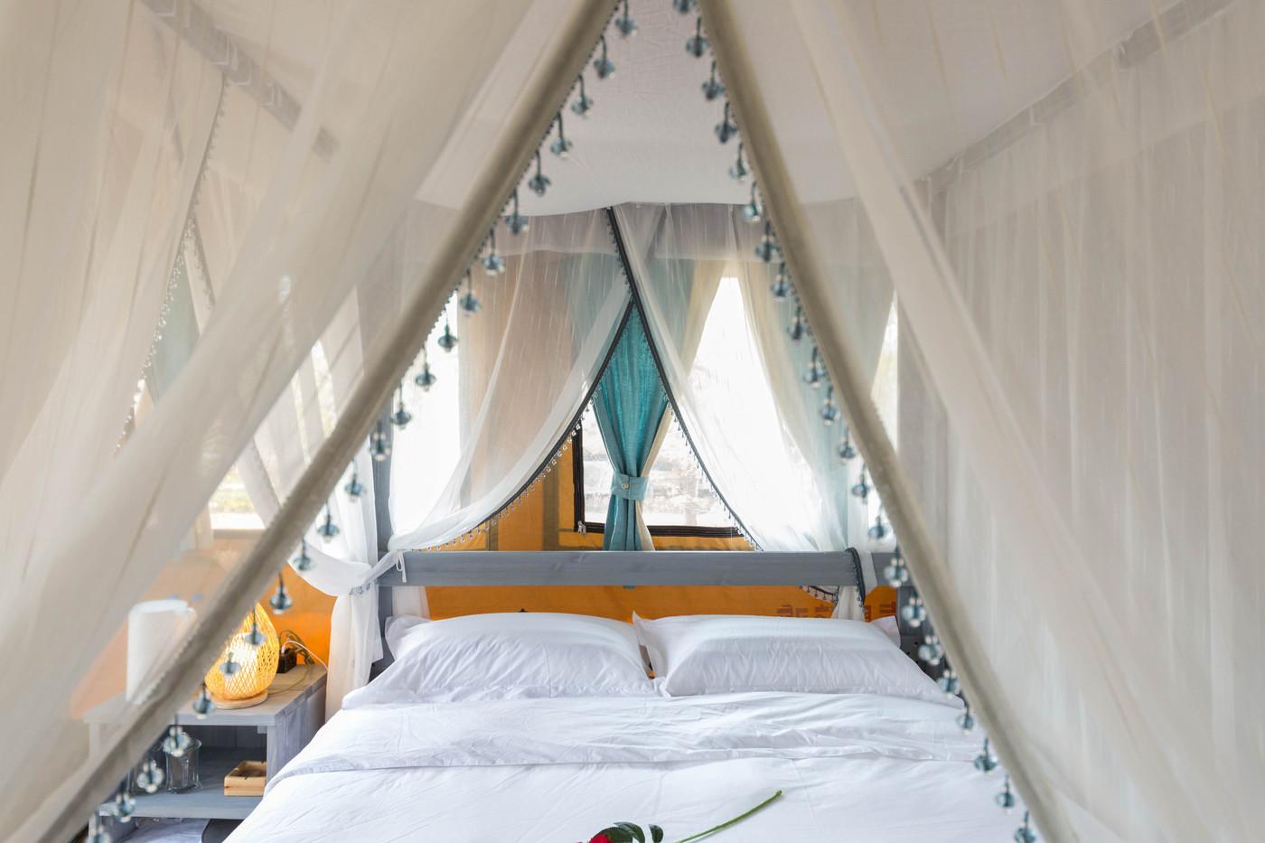 喜马拉雅野奢帐篷酒店—安徽砀山 东篱蓬芦(梨园41平)25