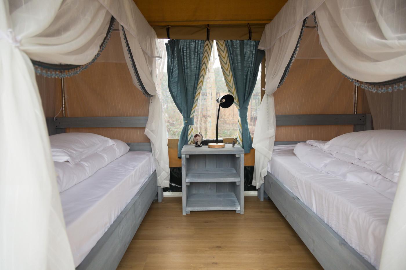 喜马拉雅上海迪士尼邻家营地子母房平地帐篷酒店33