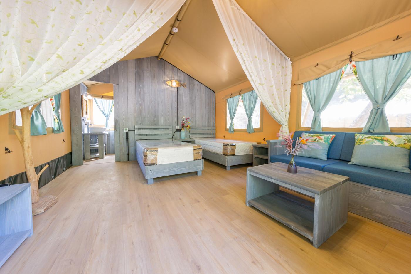 喜马拉雅野奢帐篷酒店一北京石头 剪刀 布一私享院子 54平山谷型  31