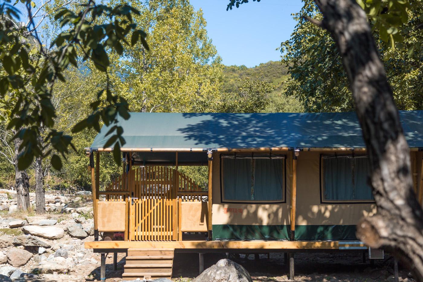 喜马拉雅野奢帐篷酒店一北京石头 剪刀 布一私享院子 54平山谷型  17