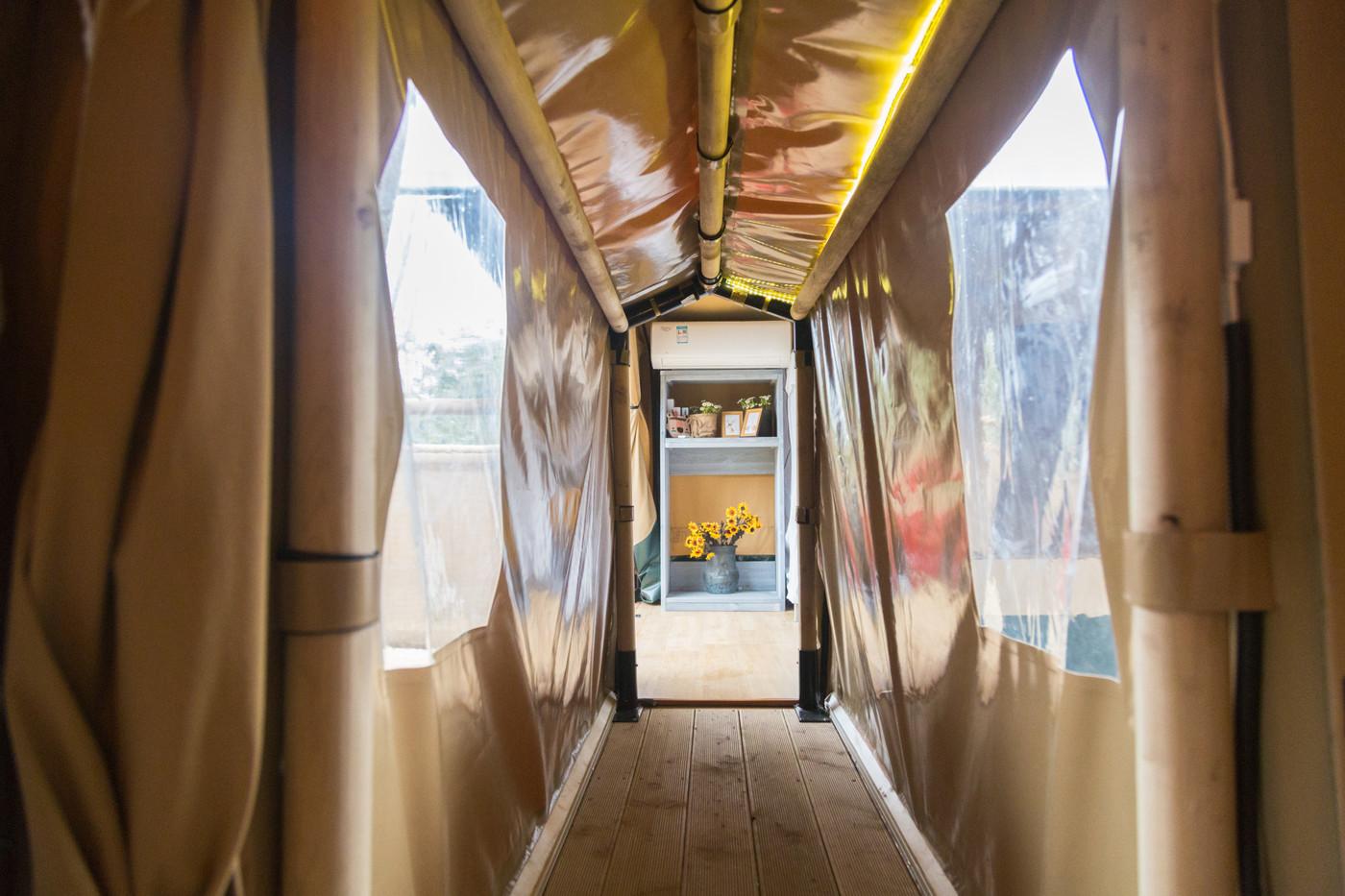 喜马拉雅上海迪士尼邻家营地子母房平地帐篷酒店29