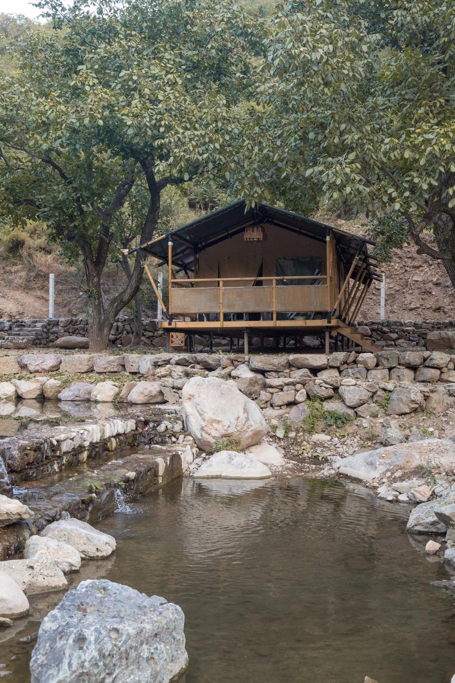 喜马拉雅野奢帐篷酒店一北京石头 剪刀 布一私享院子 54平山谷型  16